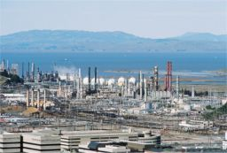 Chevron Refinery, Richmond.