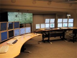 An experimental control room at IFE's laboratories in Halden, Norway.