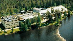 View of Vattenfall Utveckling's office in Älvkarleby.